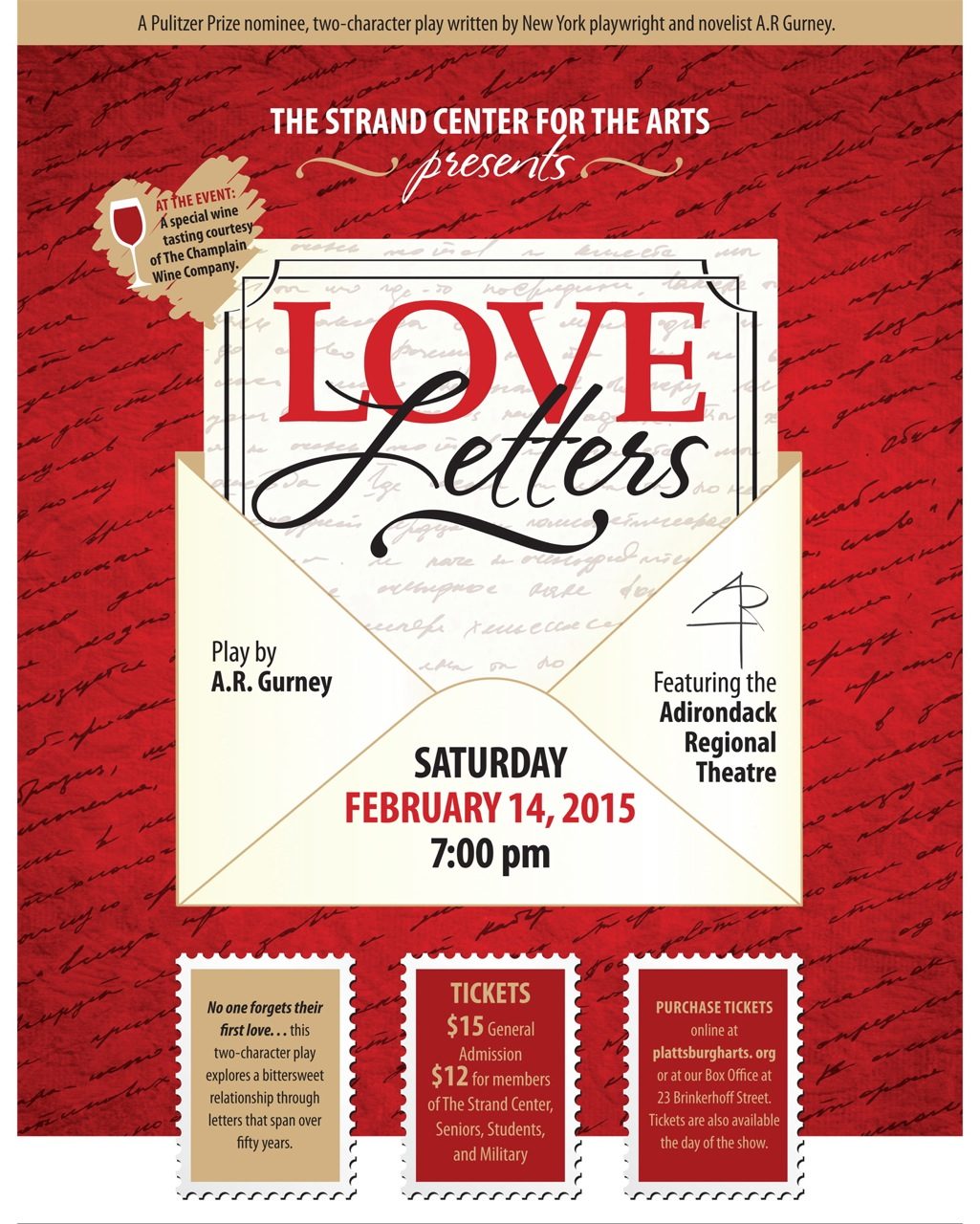 """Local Theater Couple Brings """"Love Letters"""" to Life at The Strand"""